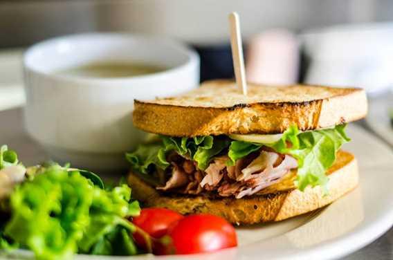 Sandwich à la Brûlerie du Roy Lavaltrie