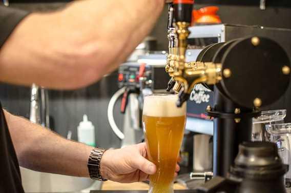 Bière en fût Brûlerie du Roy Lavaltrie