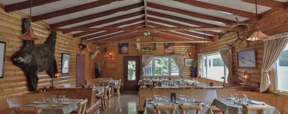 Restaurant de l'Auberge Pourvoirie Kanamouche
