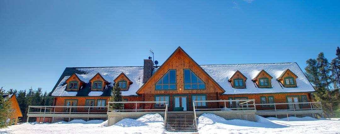 Camp Taureau in winter
