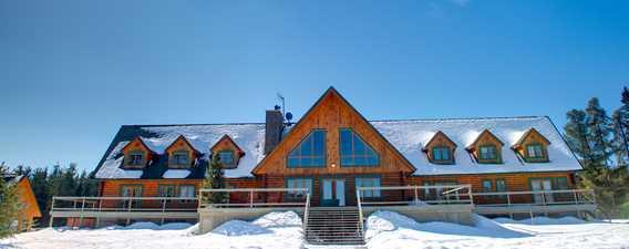 Camp Taureau en hiver