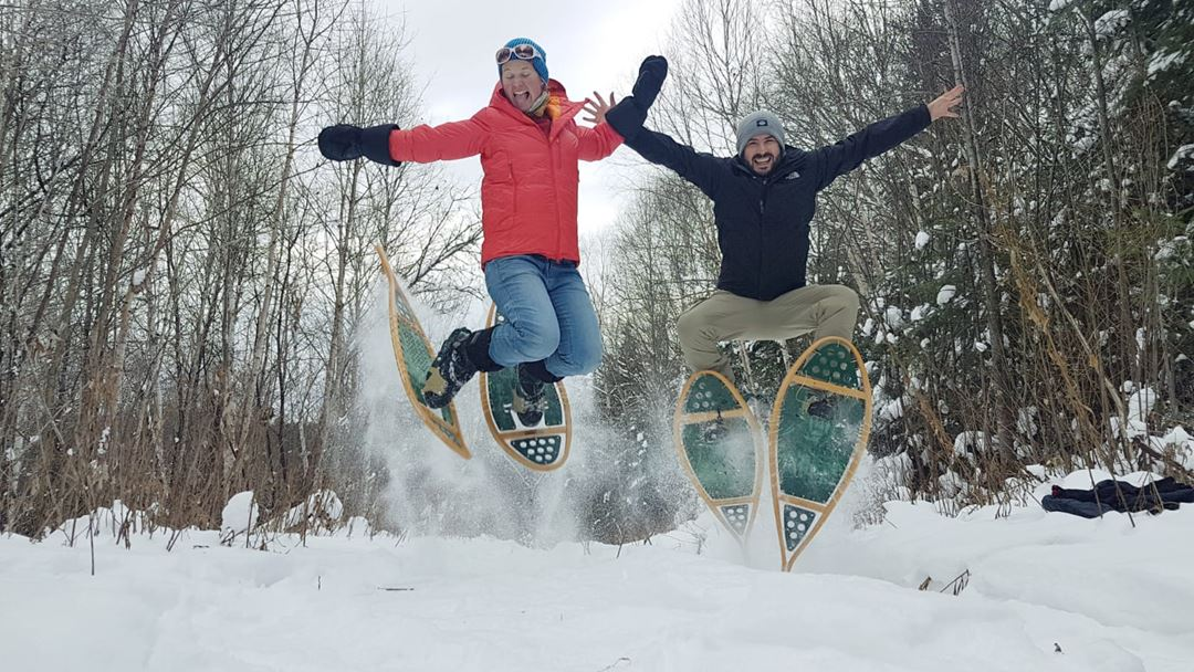Snowshoe at Camp Taureau