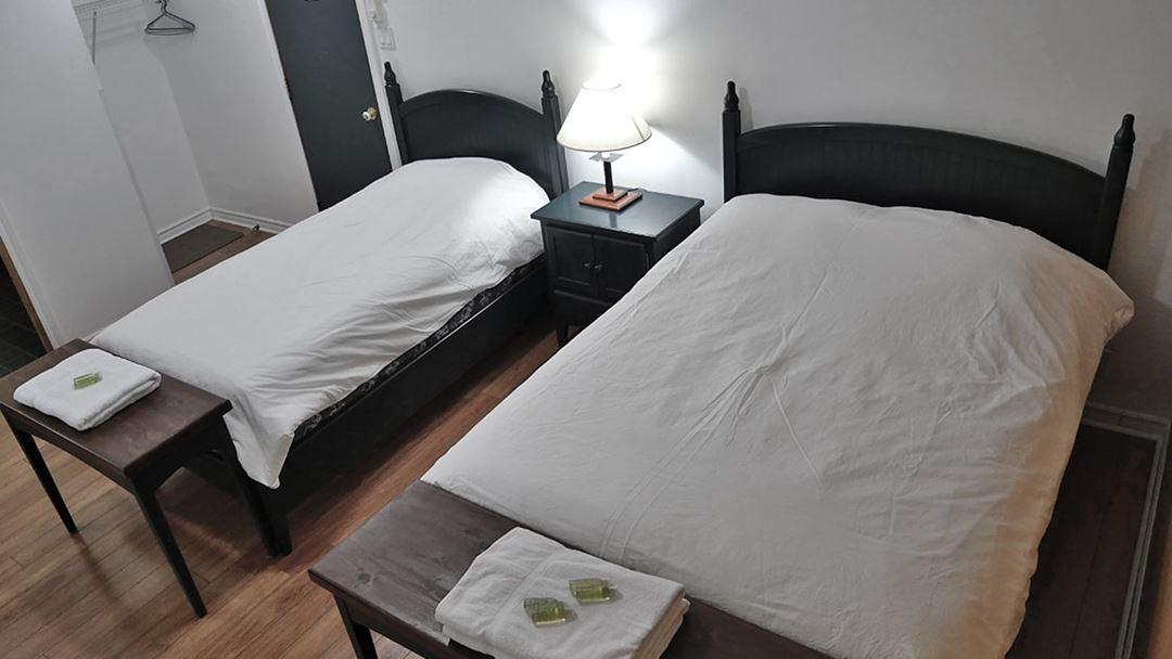 Room at Camp Taureau
