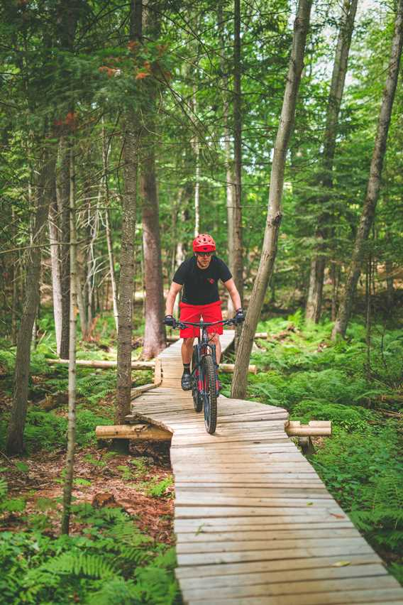 Mountain bike at Tournée des Cantons de Rawdon