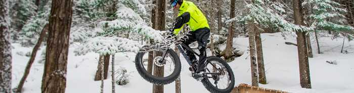 Fat bike au parc Louis-Philippe-De Grandpré