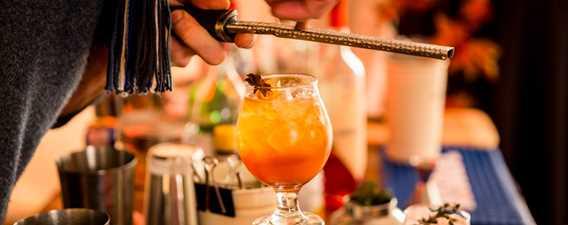 Conception de cocktail au Festival Octenbulle de Mascouche