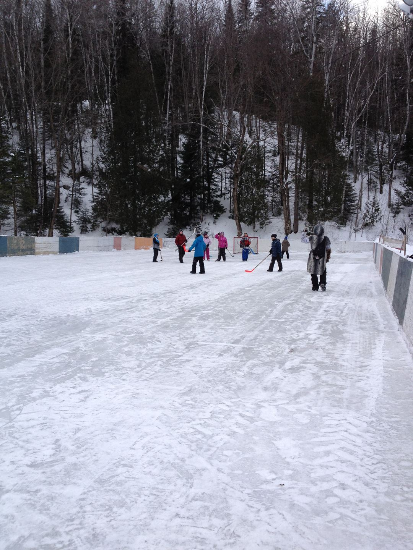 Winter sports at Plein Air Lanaudia