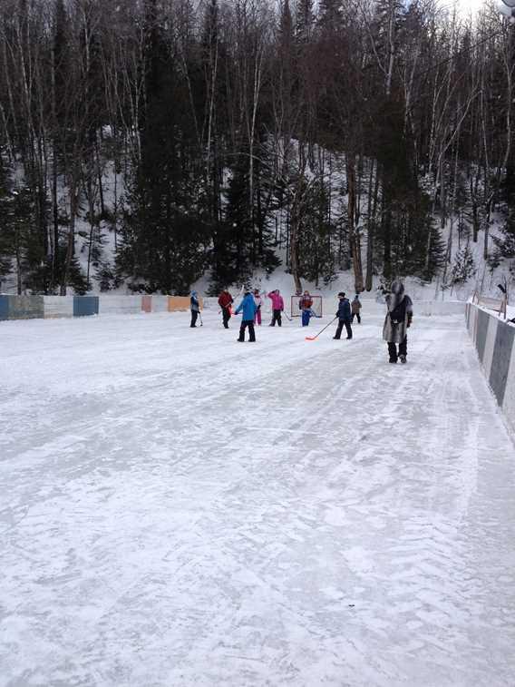 Sports d'hiver à Plein Air Lanaudia