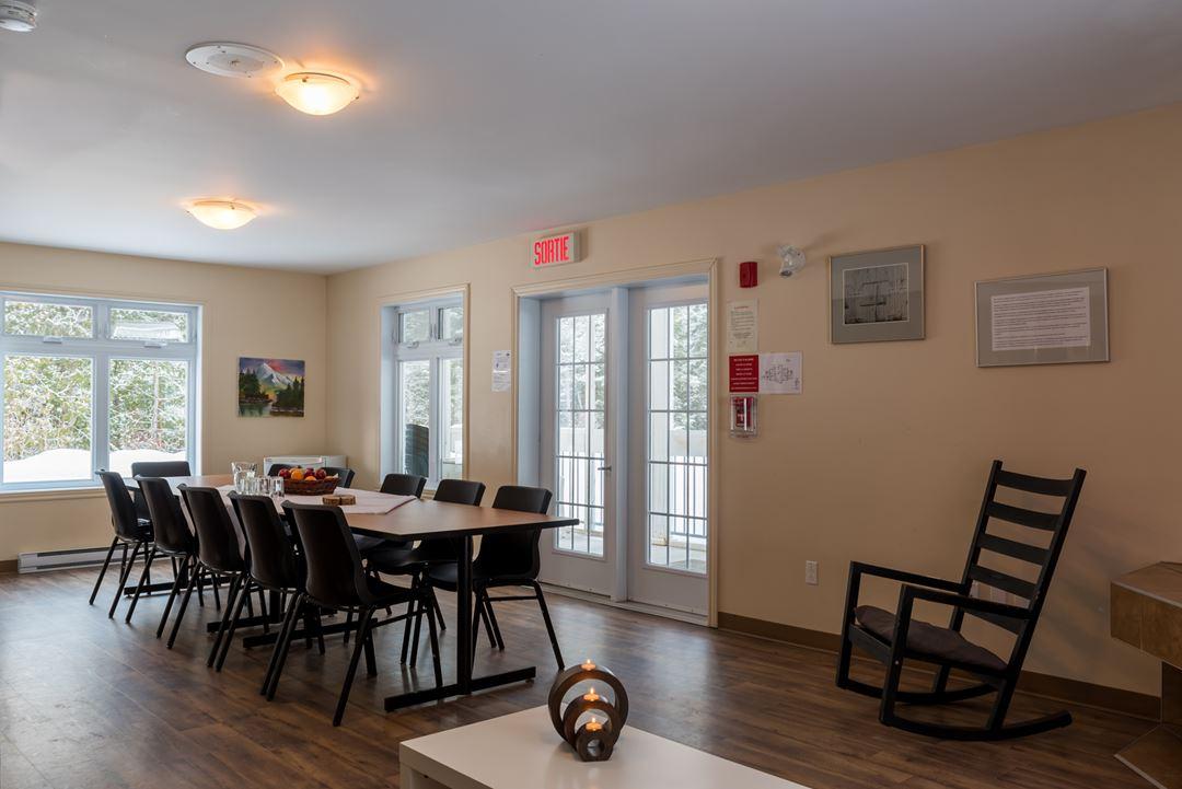 Meeting room at Plein air Lanaudia
