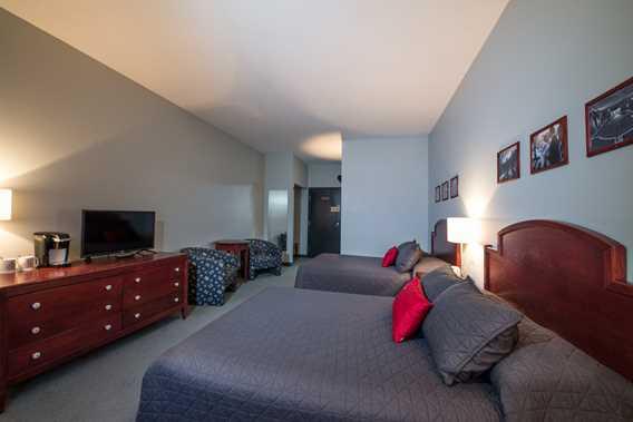 Chambre à l'Auberge Val Saint-Côme