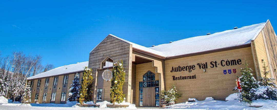 Auberge Val Saint-Côme en hiver