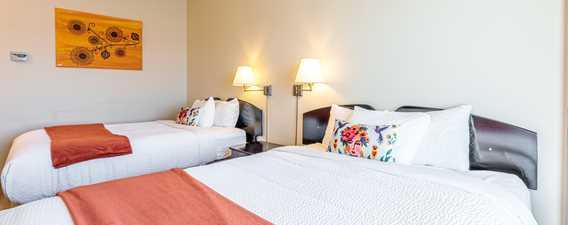 Vintage room 2 beds