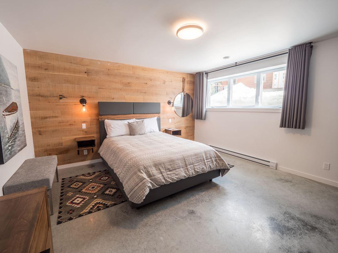 Room at Chalets au Lac Taureau