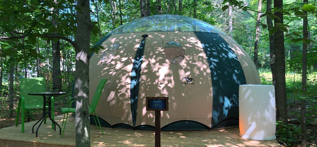 Cozy bubble of Espaces Expérienza