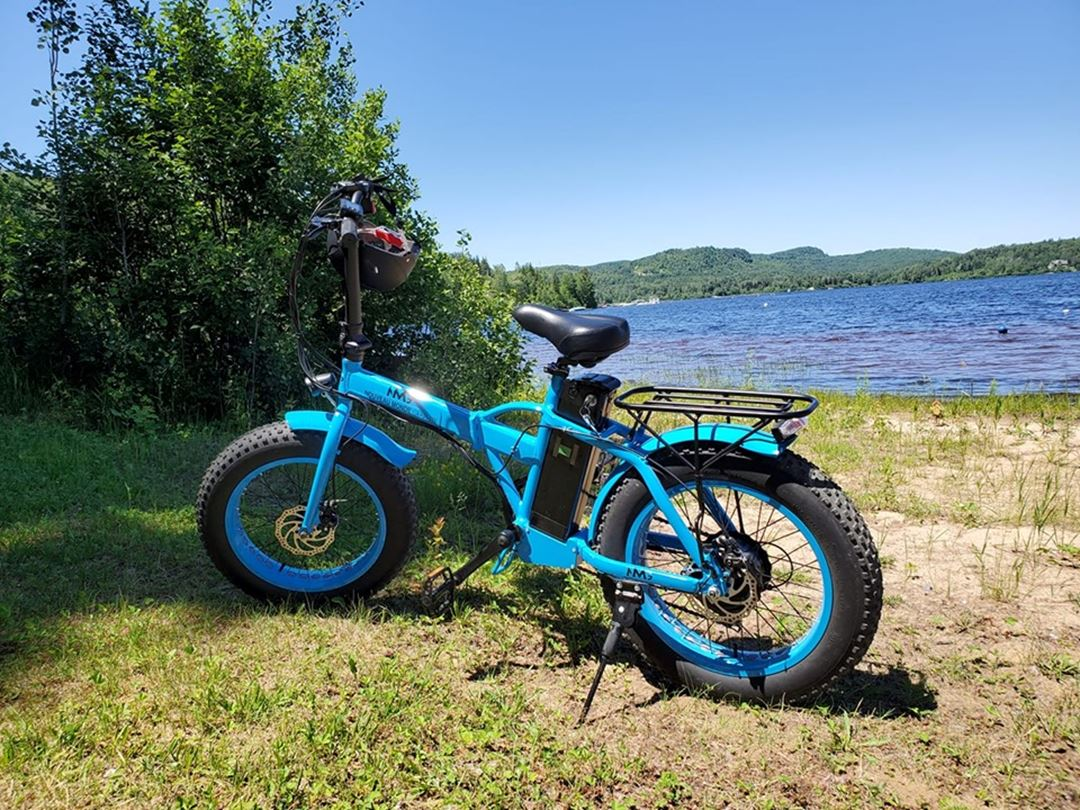 Electric bike for rent in Saint-Michel-des-Saints