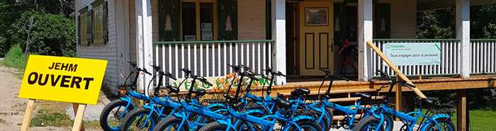 Vélo électrique à louer à Saint-Michel-des-Saints