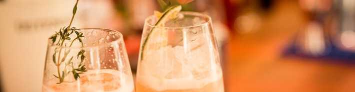 Cocktail à l'Auberge Romance