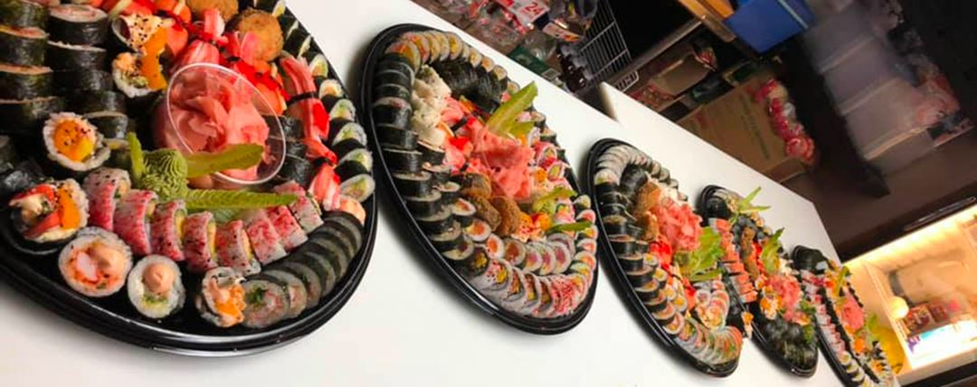 Plateaux de sushis de Miyoko Fusion Sushi Bar
