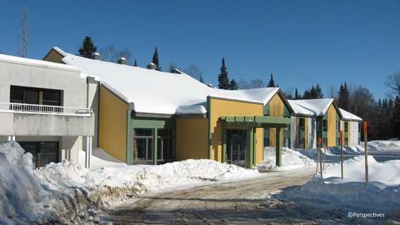 Pavillon de l'Étoile du Nord en hiver