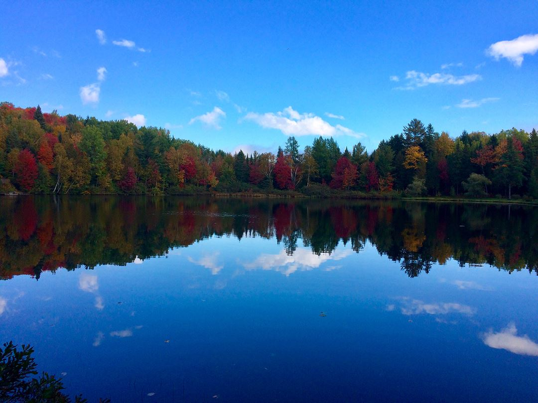 Chalet Bourbon in fall