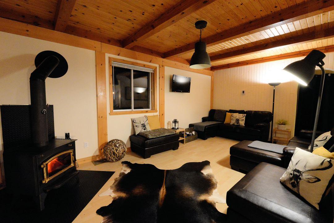 Salon du chalet Chic Cottage