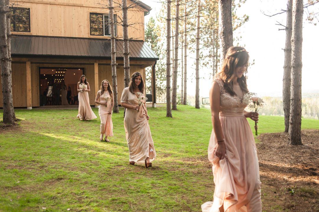 Mariage à la Grange Au Chic Chalet des Chutes
