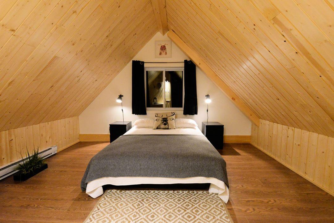 Chambre à coucher du chalet Chic Cottage