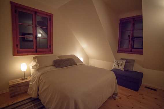 Bedroom of Chic Chalet des Chutes