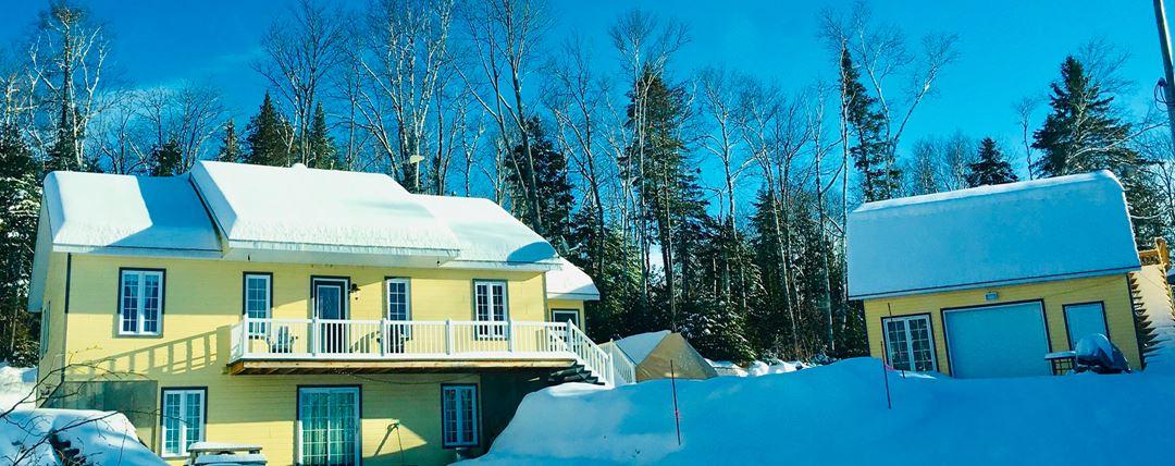 Hébergement La Belle Époque in winter
