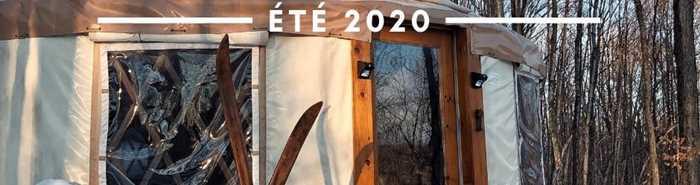 Yourte la tourterelle ouverture été 2020