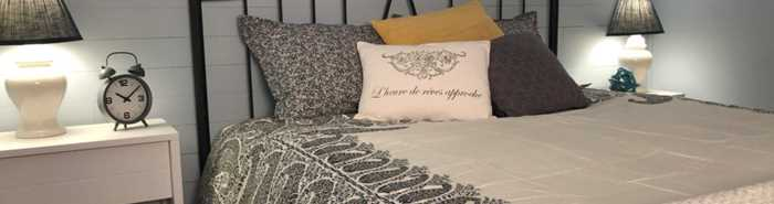 Chambre Le bouleau blanc à l'Auberge Ma-Gi Bel-Automne