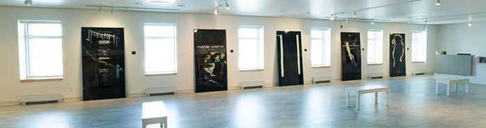 Salle d'exposition du Centre des arts et des loisirs Alain-Larue