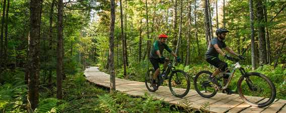 Mountain bike - Ski Montcalm