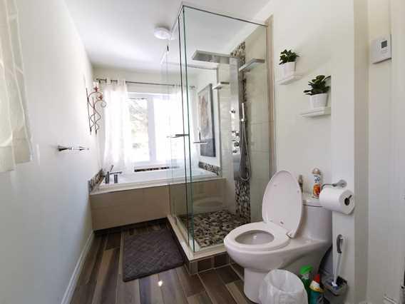 Chalet Oasis de paix bathroom