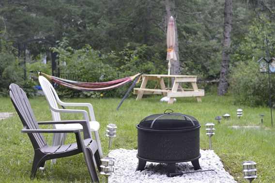 Chalet Oasis de paix outdoor