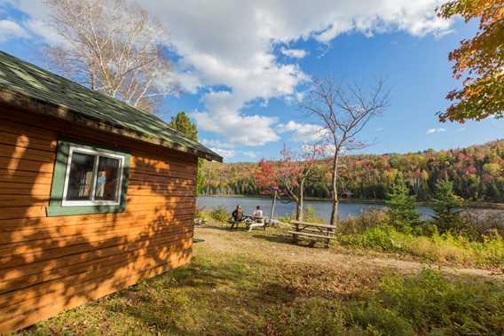 Cabin parc régional de la forêt Ouareau