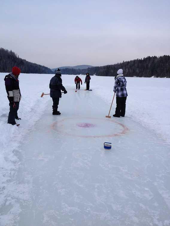 Curlingà Plein Air Lanaudia