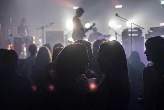 Crowd in a show at  Centre Culturel Desjardins
