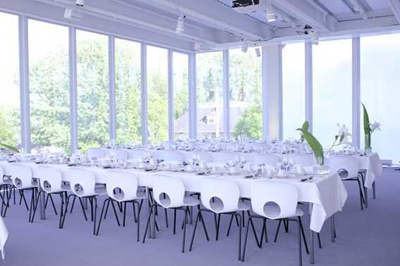 Salle de réception au Musée d'art de Joliette