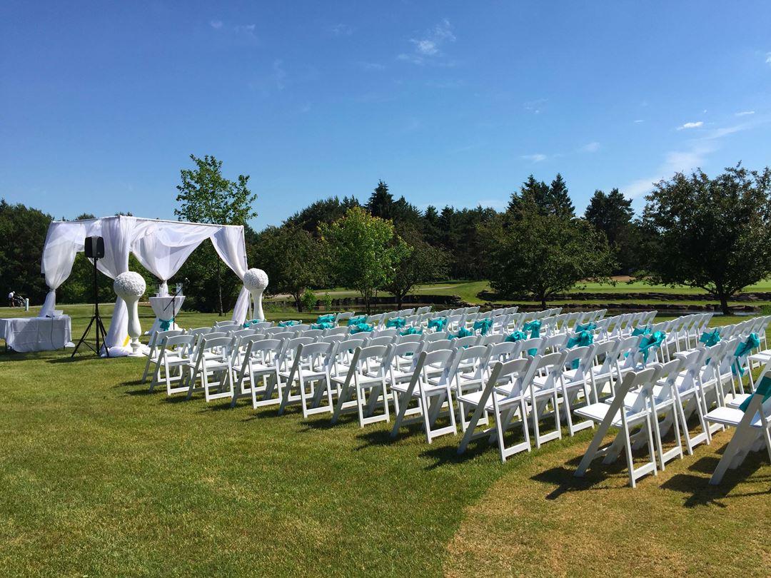 Réception de mariage au Club de golf Montcalm