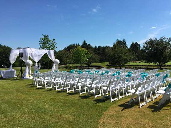 Wedding reception at Club de golf Montcalm
