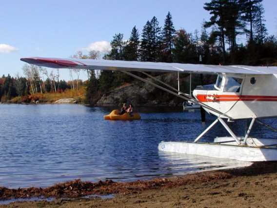 Hydravion Pourvoirie du Lac Blanc
