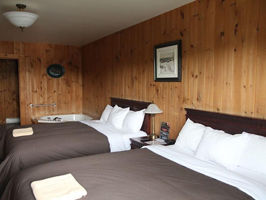 Chambre double Pourvoirie du Lac Blanc