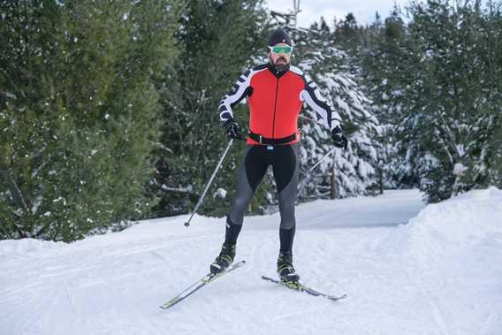 Ski de fond Montagne Coupée