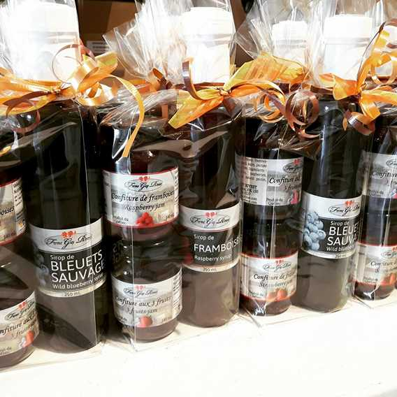 Syrup and jams from Ferme Guy Rivest