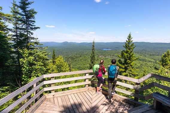 Belvedere in Parc national du Mont-Tremblant