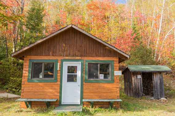 Shelter Parc régional de la Forêt Ouareau