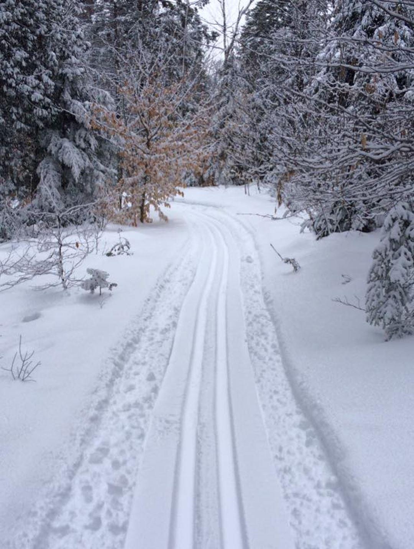 Cross-country skiing trails Saint-Félix-de-Valois