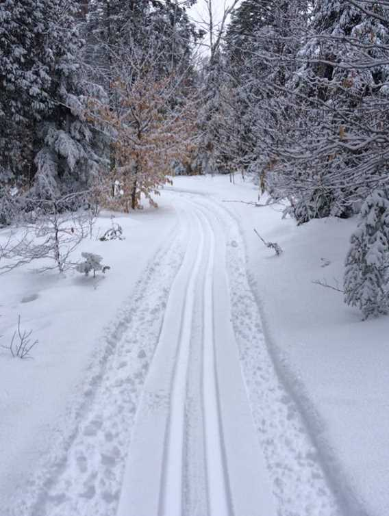 Cross-country skiing trails Saint-Félix-de-Valois