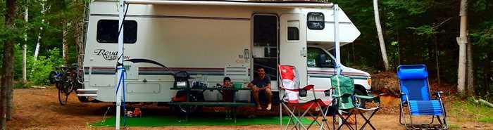 Camping rustique